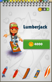 Subway Surfers: Lumberjack